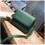 [ พร้อมส่ง ] - กระเป๋าถือ/สะพาย สีเขียวเข้ม ขนาดกระทัดรัด ดีไซน์สวยเรียบหรู ดูดี งานหนังแบบด้าน คุณภาพดีค่ะ thumbnail 5