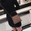 [ พร้อมส่ง ] - กระเป๋าถือ/สะพาย สีน้ำตาล วิ้งค์ๆ ขนาดใบเล็กๆ กระทัดรัด ดีไซน์สวยเก๋หัวบิดเปิดกระเป๋า ดูดี งานสวยน่ารักค่ะ thumbnail 9