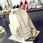 [ ลดราคา ] - กระเป๋าเป้แฟชั่น สไตล์เกาหลี สีแดงเข้ม ปักหมุดเท่ๆ ดีไซน์แบรนด์ดัง ทรงสวยเก๋ไม่ซ้ำใคร งานหนังคุณภาพอย่างดีค่ะ thumbnail 15