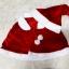 เสื้อคลุมไหล่ซานต้า แบบผูกคอ พร้อมหมวกซานต้า thumbnail 2