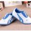 รองเท้ากีฬาเด็ก ทรงเท่ สีฟ้าขาว Size 26-30 thumbnail 9