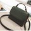 [ พร้อมส่ง ] - กระเป๋าถือ/สะพาย สีเขียวเข้ม ขนาดกระทัดรัด ดีไซน์สวยเรียบหรู ดูดี งานหนังแบบด้าน คุณภาพดีค่ะ thumbnail 10