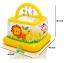 บ้านบอลเป่าลม คอกเด็กเป่าลม บ่อบอล Intex Soft Sides My First Lil' Babies And Toddlers Gym thumbnail 5