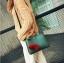 [ Pre-Order ] - กระเป๋าแฟชั่น ถือ/สะพาย สีเขียวเมทาลิค ทรงสี่เหลี่ยมขนาดกระทัดรัด ดีไซน์สวยเรียบหรู ดูดี งานหนังคุณภาพ คุ้มค่าการใข้งาน thumbnail 5
