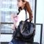 [ พร้อมส่ง ] - กระเป๋าเป้แฟชั่น สีดำคลาสสิค สุดเท่ ดีไซน์สวยเก๋ไม่ซ้ำใคร สวยสุดมั่น เหมาะกับสาว ๆ ที่ชอบกระเป๋าเป้และสะพายได้ หนังนิ่มน่าใช้ค่ะ thumbnail 17