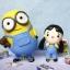 ตุ๊กตาดินปั้น โมเดล Minion งานสั่งทำ ปั้นจากดินไทย thumbnail 1