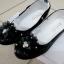 รองเท้าคัทชูหญิงสีดำ มีสายรัดหมุนเก็บได้ ไซส์ 25-34 thumbnail 1