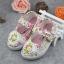 รองเท้าคัชชูผ้าดอกไม้หวานๆ น่ารัก (เท้ายาว 13-16.5 ซม.) thumbnail 1