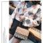 [ พร้อมส่ง Hi-End ] - กระเป๋าคลัทช์ สะพาย สีบรอนด์ทอง ดีไซน์สวยหรู ฟรุ้งฟริ้ง วิ้งค์ๆทั้งใบ ขนาดกระทัดรัด thumbnail 3