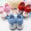 รองเท้าเด็กอ่อน I love Baby สีแดง Size 11-13 thumbnail 2