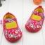 รองเท้าคัชชูผ้าหุ้มส้นเด็กหญิง ลายกุหลาบ สีฟ้า/ชมพู Size 16- 21 thumbnail 7