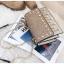 [ พร้อมส่ง Hi-End ] - กระเป๋าคลัทช์ สะพาย สีบรอนด์ทอง ดีไซน์สวยหรู ฟรุ้งฟริ้ง วิ้งค์ๆทั้งใบ ขนาดกระทัดรัด thumbnail 18