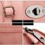 [ พร้อมส่ง ] - กระเป๋าแฟชั่น สไตล์เกาหลี ใบเล็กๆกระทัดรัด ดีไซน์สวยน่ารัก มีสายสะพายยาว thumbnail 8