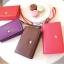 [ พร้อมส่ง ] - กระเป๋าสตางค์แฟชั่น สไตล์เกาหลี สีชมพูโดดเด่น ใบยาว แต่งนกน้อย งานสวยน่ารัก น่าใช้มากๆค่ะ thumbnail 4
