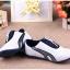 รองเท้ากีฬาเด็ก ทรงเท่ สีกรมขาว Size 21-33 thumbnail 7