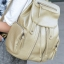 [ ลดราคา ] - กระเป๋าเป้แฟชั่น นำเข้าสไตล์เกาหลี สีทองโดดเด่น สุดเก๋ ดีไซน์สวยเก๋ไม่ซ้ำใคร สวยสุดมั่น เหมาะกับสาว ๆ ที่ชอบกระเป๋าเป้ใบกลางค่ะ thumbnail 6