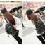 [ ลดราคา ] - กระเป๋าเป้แฟชั่น สไตล์เกาหลี สีดำคลาสสิค ปักหมุดเก๋ๆ ดีไซน์สวยเท่ๆ งานหนังคุณภาพอย่างดี เหมาะสำหรับสาวๆ ที่ชอบงานมีสไตล์เป็นของตัวเอง thumbnail 8