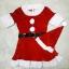 ชุดซานต้าผู้หญิง + หมวกซานต้า + เครื่่องประดับตกแต่ง วันคริสต์มาส thumbnail 2