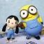 ตุ๊กตาดินปั้น โมเดล Minion งานสั่งทำ ปั้นจากดินไทย thumbnail 2