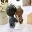 พวงกุญแจดินปั้นเจ้าสาวเจ้าบ่าว ชุดแต่งงาน ของขวัญแต่งงาน thumbnail 2