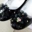 รองเท้าคัทชูหญิงสีดำ มีสายรัดหมุนเก็บได้ ไซส์ 25-34 thumbnail 2