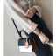 [ พร้อมส่ง ] - กระเป๋าถือ/สะพาย สีทูโทนขาวดำ ทรงกล่องขนาดกระทัดรัด ห้อยป้ายเก๋ๆ ดีไซน์สวยเรียบหรู ดูดี งานหนังคุณภาพดี ช่องใส่ของ 3 ช่อง thumbnail 15