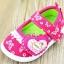 รองเท้าคัชชูเด็กหญิง สีชมพูสดใสน่ารัก มีเสียงเวลาเดิน Size 15-20 สำหรับเด็กวัย 1-2 ปี thumbnail 2
