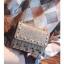 [ พร้อมส่ง Hi-End ] - กระเป๋าคลัทช์ สะพาย สีบรอนด์ทอง ดีไซน์สวยหรู ฟรุ้งฟริ้ง วิ้งค์ๆทั้งใบ ขนาดกระทัดรัด thumbnail 10