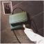 [ พร้อมส่ง ] - กระเป๋าถือ/สะพาย สีเขียวเข้ม ขนาดกระทัดรัด ดีไซน์สวยเรียบหรู ดูดี งานหนังแบบด้าน คุณภาพดีค่ะ thumbnail 3