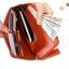 [ พร้อมส่ง ]] - กระเป๋าสตางค์แฟชั่น สีชมพูเข้ม ซิปรอบปิดตัว L ใบยาว ดีไซน์สวยคลาสสิค ช่องเยอะ งานสวย น่าใช้มากๆค่ะ thumbnail 19