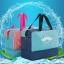 กระเป๋าชายหาด เก็บอุปกรณ์ว่ายน้ำ มีช่องใส่ของเปียกและแห้ง thumbnail 1