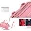 [ พร้อมส่ง Hi-End ] - กระเป๋าถือ/สะพาย สีชมพู ลุคสาวหวาน ทรงหมอน ดีไซน์สวยเรียบหรู ดูดี งานหนังคุณภาพดีมาก สำเนา thumbnail 6