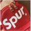 [ พร้อมส่ง ] - กระเป๋าเป้แฟชั่น สไตล์ยุโรป สีแดง Spur ใบเล็กกระทัดรัด ดีไซน์สวยเก๋ไม่ซ้ำใคร เหมาะกับสาว ๆ ที่กำลังมองหากระเป๋าเป้ใบจิ๋ว thumbnail 27