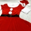 ชุดซานต้าผู้หญิง + หมวกซานต้า + เครื่่องประดับตกแต่ง วันคริสต์มาส thumbnail 1