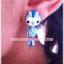 ต่างหูดินปั้น นกน้อยสีขมพู Pinky Bird Earrings thumbnail 4