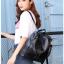 [ พร้อมส่ง ] - กระเป๋าเป้แฟชั่น สีดำคลาสสิค สุดเท่ ดีไซน์สวยเก๋ไม่ซ้ำใคร สวยสุดมั่น เหมาะกับสาว ๆ ที่ชอบกระเป๋าเป้และสะพายได้ หนังนิ่มน่าใช้ค่ะ thumbnail 22