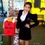 เสื้อสูทนักศึกษาหญิง เข้ารูป ผ้าโพลี มี 2 สี - กรมท่า,ดำ thumbnail 2