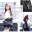 [ พร้อมส่ง ] - กระเป๋าเป้แฟชั่น สีดำคลาสสิค สุดเท่ ดีไซน์สวยเก๋ไม่ซ้ำใคร สวยสุดมั่น เหมาะกับสาว ๆ ที่ชอบกระเป๋าเป้และสะพายได้ หนังนิ่มน่าใช้ค่ะ thumbnail 10