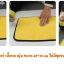 ผ้าไมโครไฟเบอร์ เนื้อผ้าหนานุ่ม ขนาด 40*30 cm ไม่ทิ้งขนแมวให้กวนใจ thumbnail 6