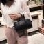 [ พร้อมส่ง ] - กระเป๋าถือ/สะพาย สีครีม ขนาดกระทัดรัด ดีไซน์สวยเรียบหรู ดูดี งานหนังมันเงาสวย คุณภาพดีค่ะ thumbnail 14