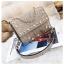 [ พร้อมส่ง Hi-End ] - กระเป๋าคลัทช์ สะพาย สีบรอนด์ทอง ดีไซน์สวยหรู ฟรุ้งฟริ้ง วิ้งค์ๆทั้งใบ ขนาดกระทัดรัด thumbnail 15