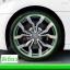 เส้นสีติดขอบล้อรถยนต์ (สีเขียว) thumbnail 1