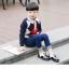 รองเท้าคัทชูเด็กผูกเชือกหนังแก้วสีขาวดำฉลุลาย สไตล์อังกฤษ Size 28-37 thumbnail 9