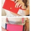[ พร้อมส่ง ] - กระเป๋าสตางค์แฟชั่น สไตล์เกาหลี สีชมพูโดดเด่น ใบยาว แต่งนกน้อย งานสวยน่ารัก น่าใช้มากๆค่ะ thumbnail 12