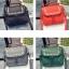 [ ลดราคา ] - กระเป๋าแฟชั่น นำเข้าสไตล์เกาหลี สีแดงโดดเด่น ปักหมุดขอบ ทรง Retro เก๋ๆ ดีไซน์สวยเท่ๆ แบบเก๋มากๆ เหมาะสำหรับสาวๆ ชอบงานดีไซน์ ล้ำๆ thumbnail 2