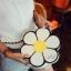 [ Pre-Order ] - กระเป๋าแฟชั่น กระเป๋าสะพาย นำเข้าสไตล์เกาหลี ทรงรูปดอกไม้สีขาว ดีไซน์สวยเก๋น่ารัก โดดเด่นแปลกสวยไม่เหมือนใคร สาวๆชอบงานโดดเด่น ห้ามพลาด thumbnail 4