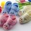 รองเท้าเด็กอ่อน ลายหมีน้อย สีฟ้า Size 11-13 thumbnail 2