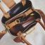 [ พร้อมส่ง ] - กระเป๋าถือ/สะพาย สีดำคลาสสิค ลายสก็อต ขนาดกลางๆ ดีไซน์สวยเก๋เท่ๆ ดูดี ไม่ซ้ำใคร มีกระเป๋าลูก 1 ใบ thumbnail 17