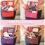 [ พร้อมส่ง ] - กระเป๋าสตางค์แฟชั่น สไตล์เกาหลี สีชมพูโดดเด่น ใบยาว แต่งนกน้อย งานสวยน่ารัก น่าใช้มากๆค่ะ thumbnail 9