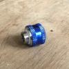 Fitting ท่ออคริลิค14mm สีน้ำเงิน
